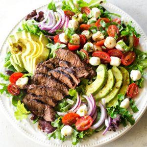 Caprese Steak Salad